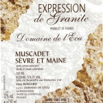 Domaine de l'Ecu Expression de Granite