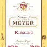 Domaine Eugène Meyer Riesling
