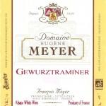 Domaine Eugène Meyer Gewurztraminer