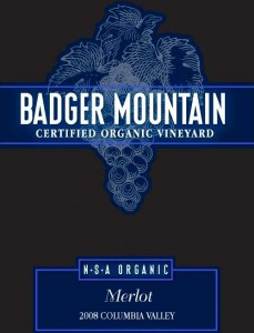 badger mountain merlot