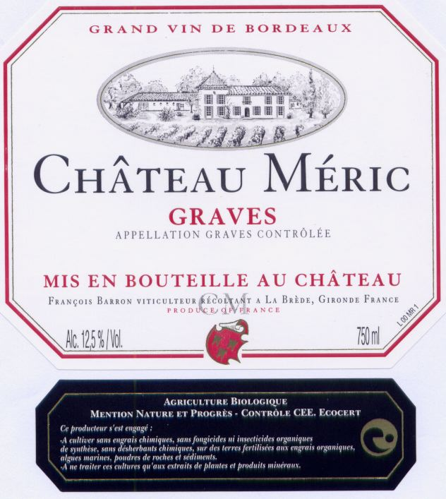 Chateau meric rouge